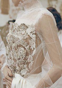 Valentino Haute Couture S/S 2012 Backstage