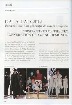 Gala UAD 2012 - Etiquette Magazine (June - August 2012) - 2/11