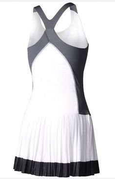 First look at Garbine Muguruza's Adidas dress for the 2017 French Open Tennis Outfits, Tennis Clothes, Sports Dresses, Tennis Whites, Beach Tennis, Adidas Dress, Glam Slam, Luxury Closet, Fitness Apparel