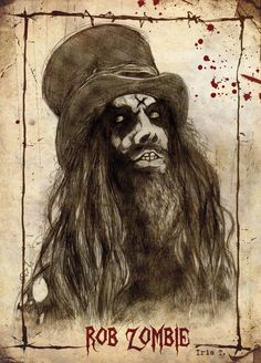 rob zombie by darkcristal