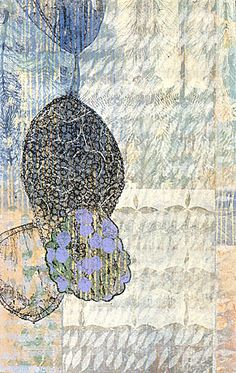 Eva Isaksen - Works on Canvas - Blue Mist