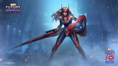 Marvel Future Fight (Mobile Game): Sharon Rogers