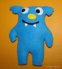 uglydoll-inspired softie, make it longer and heavy for weighted lap doll