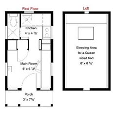 Astounding 8X16 Tiny House Floor Plan Sample From The Book Tiny House Floor Largest Home Design Picture Inspirations Pitcheantrous