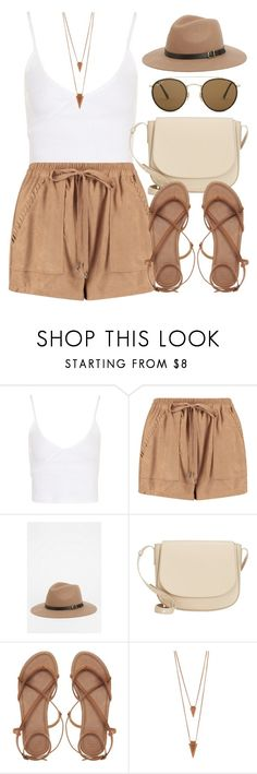 """Sin título #12598"" by vany-alvarado ❤ liked on Polyvore featuring Topshop, Boohoo, Staring At Stars, Mansur Gavriel, ASOS, Jules Smith and Ray-Ban"