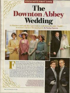 the wedding Matthew Crawley, Elizabeth Mcgovern, Julian Fellowes, Dowager Countess, Downton Abbey Fashion, Lady Mary, Love Energy, Walking Down The Aisle, Best Series