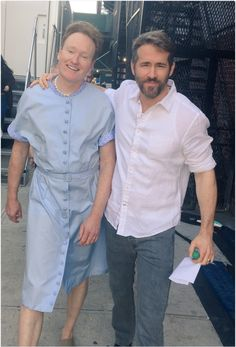 Ryan Reynolds Makes Out With Conan O'Brien In 'The Notebook 2'