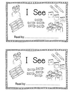 Free!~Emergent Reader Counting Book for the Beginning of School