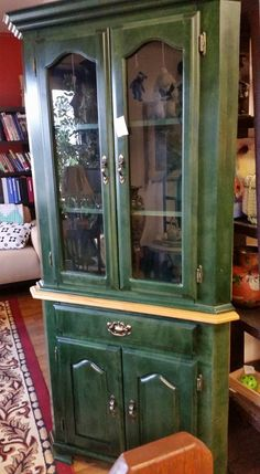Stunning, Emerald Green, Hutch New In Our #collingwood Store $325 #furniture  #