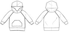 Brindille & Twig: hooded raglan sweatshirt : 067