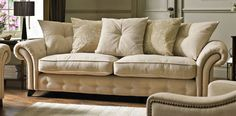 Akasha 4 Seater Pillow Back Sofa