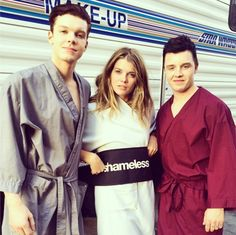 Cameron Monaghan, Emma Greenwell, and Noel Fisher