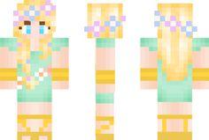 valentine girl skin minecraft