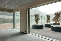 campus hoogvliet renovation by wiel arets architects near rotterdam, the netherlands
