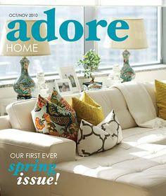 Design e Decoração- Blog de Decoração: Adore Home- Revista Online