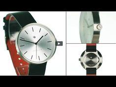 The Drumline watch by Newgate Watches. A minimalist watch with steel dia...