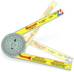 Amazon.com: Starrett ProSite Miter Saw Protractor: Industrial & Scientific Woodworking Jig Plans, Woodworking Shop, Angle Measuring Tool, Miter Saw Reviews, Protractor, Circular Saw, Used Tools, Wood Working For Beginners, Wood Trim