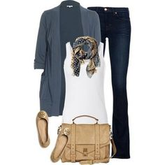 Casual Outfit--I love to layer this time of year and this IS my style. Mode Outfits, Casual Outfits, Fashion Outfits, Fashion Trends, Fashionista Trends, Outfits 2014, Fall Winter Outfits, Autumn Winter Fashion, Spring Fashion Casual