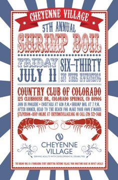 Low Country Crab Or Shrimp Boil Party Invitation Crab Shrimp