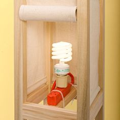 Make a light kit out of socket adapter and extension cord.