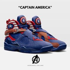 Please swipe for more images.CHOOSE YOUR FAVOURITE? So to conclude this weekends Endgame theme check out some of these badass sneakers based on characters from the movie Marvel Shoes, Marvel Clothes, Best Sneakers, Sneakers Fashion, Sneakers Nike, Zapatillas Jordan Retro, Futuristic Shoes, Baskets Nike, Fresh Shoes