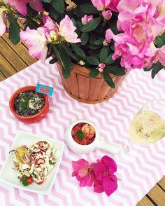Pink Mood  Almoço na nossa Fhits House By @aluguetemporadabrasil para comemorar e celebrar essa semana maravilhosa. Foram momentos inesquecíveis!  Muito obrigada @falandodeviagem @portofrescatto! #speciallunch #fhitsrio @fhits