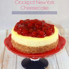 Crock pot New York Cheesecake