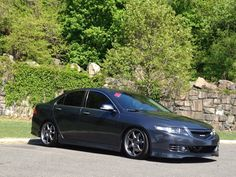 2006 Acura tsx - Euro R Front Lip, A-Spec side skirts and rear lip.