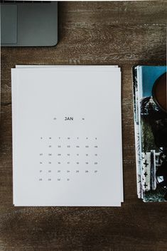 Here's a curated list of 18 free printable 2018 calendars to kick start the new year. A printable monthly calendar is perfect for making to-do lists, jotting down your resolutions, adding reminders or just organizing your life. Find all kind of designs from minimal and modern to portrait and landscape!