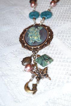 B. Accessorized Fairy Cameo Necklace
