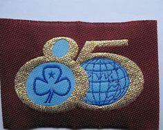 GIRL GUIDES AUSTRALIA 85 YEARS OF GUIDING CLOTH BADGE | eBay