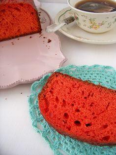 Vanilla Red cake