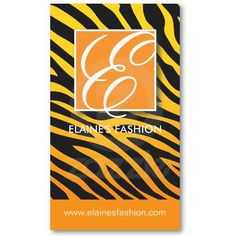 STYLISH SALON AND TANNING BUSINESS CARD