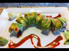 sushi rollo  [caterpillar roll]