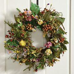 Season Flower Wreath | Sturbridge Yankee Workshop
