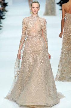 So Glam Mother of the Bride! Elie-Saab-Blush-Dress-Spring-2012