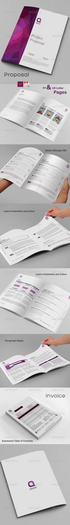 Project Proposal Template Proposal templates, Project proposal - best proposal templates