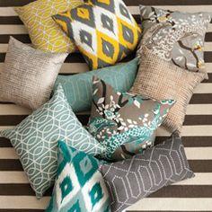 Zinc Door Throw Pillows on Sale!