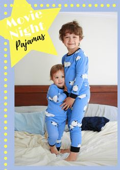 Movie Night Pajama Pattern