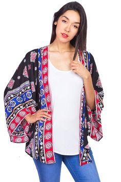 Vibrant Generation Kimono Cardigan
