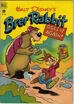 Granted only three comic books devoted to Brer Rabbit and crew have been published, those being Four Color 129, 208 and 693. Here are scans of the latter ...