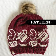 Tea time amd coffee lovers PDF pattern! On our etsy page, only $4.50 #knitting #fairilse #pattern #diy #etsy