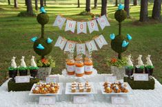 INSTANT DOWNLOAD - Hop To It - EASTER Party Printables Package. $12.00, via Etsy.