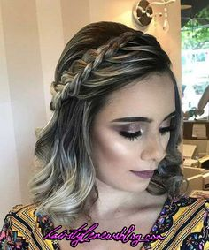 Top 60 All the Rage Looks with Long Box Braids - Hairstyles Trends Prom Hairstyles For Short Hair, Braids For Short Hair, Box Braids Hairstyles, Wavy Hair, Short Hair Cuts, Wedding Hairstyles, Hairstyles 2018, Blonde Hair, Gorgeous Hairstyles