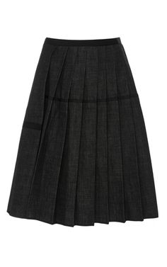 Dice Kayek Pleated Skirt