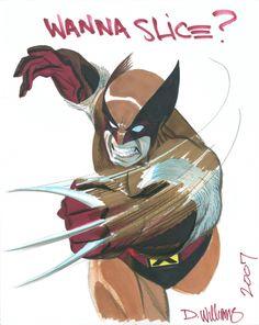 Wolverine by David Williams