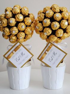 Ferrero rocher sweet tree handmade unique gift Birthday Wedding