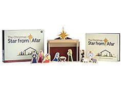 The Christmas Star from Afar Advent Calendar - Christmas Advent Nativity For Kids - Great Christian or Catholic Gift For Children Christmas Is Over, Christmas Star, Christmas Books, Christmas Morning, Wooden Nativity Sets, Nativity Stable, Advent Calendar Gifts, Advent Calendars For Kids, Advent Calendar Christian