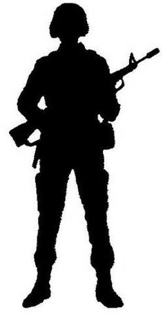 9 Best Military Stencils Images Silhouettes Soldier