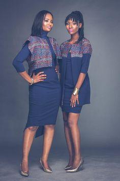 Self taught Ghanaian fashion newbie Klortsoo Okai has launched her luxury women's brand Klor Tsoo Okai African Print Dresses, African Fashion Dresses, African Dress, African Prints, African Outfits, African Clothes, Ankara Fashion, African Attire, African Wear